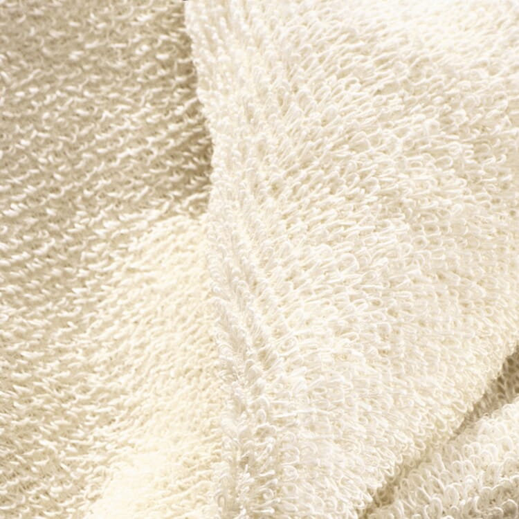 Linen Terry Sauna Towel, Light Coloured