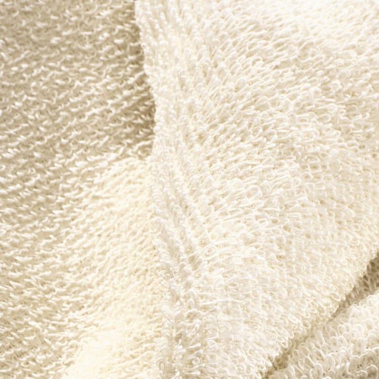 Linen Terry Sauna Towel, Ecru