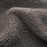 Linen Terry Sauna Towel Black and Light Coloured