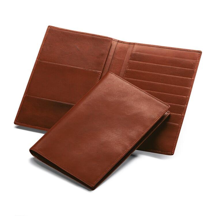 Manufactum Ausweis- und Kreditkartentasche, Braun