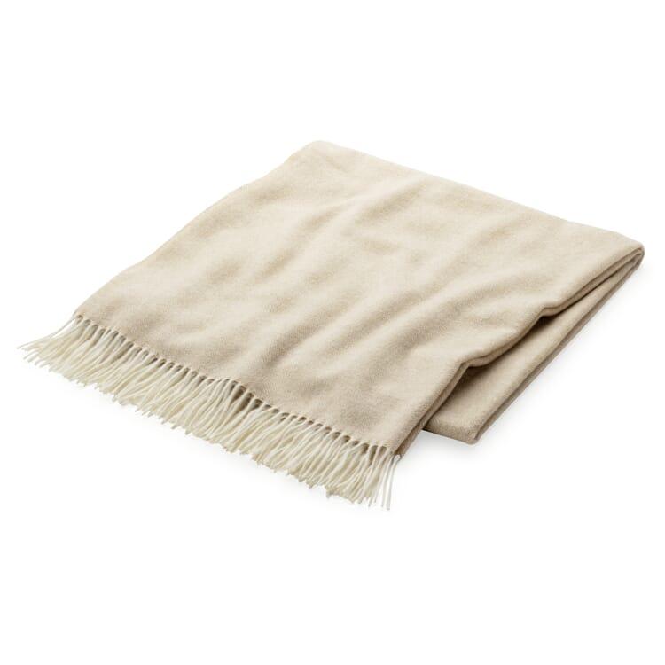 Herringbone Cashmere Blanket