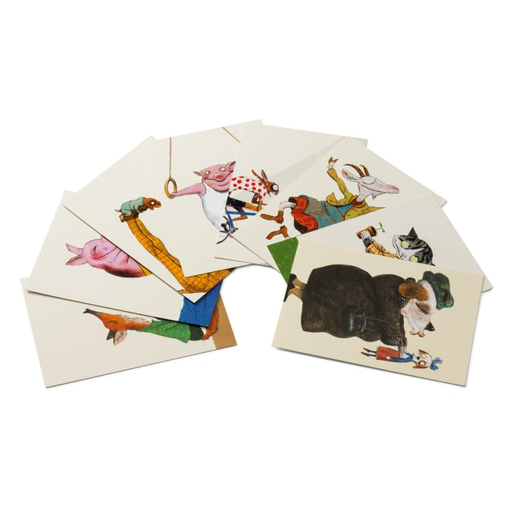 Wolf Erlbruch Postkarten