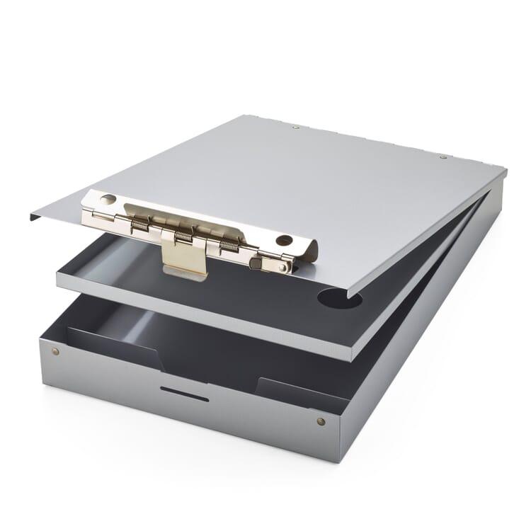 Aluminum Clipboard Box