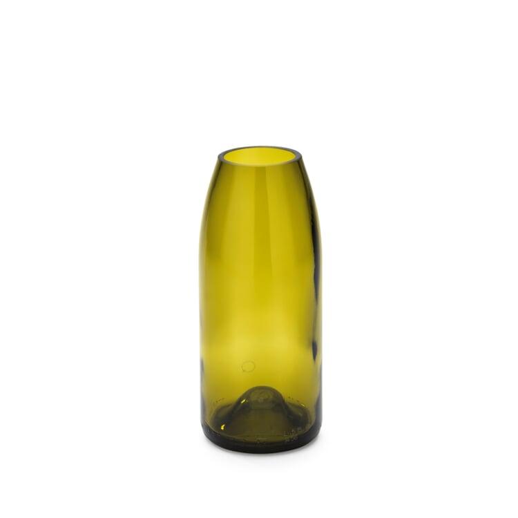 Vase Weinflasche Klein Gelbgrün