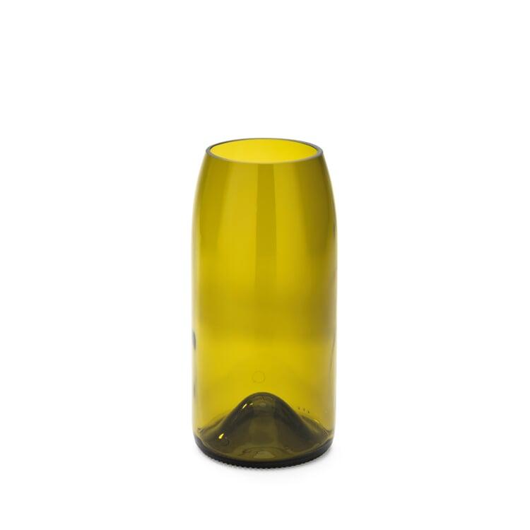 Vase Weinflasche Mittel Gelbgrün