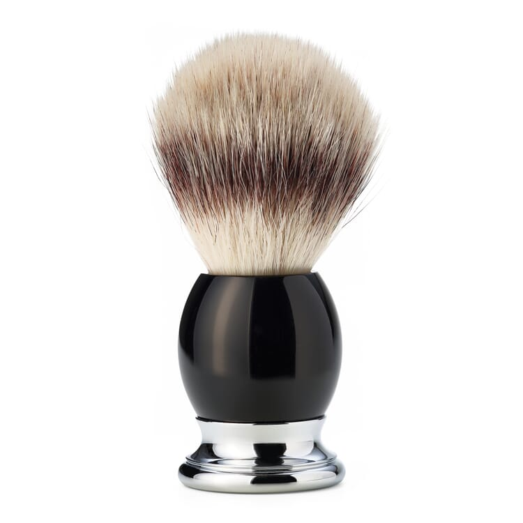 Shaving Brush with Synthetic Fibre Sophist by Mühle, Synthetic Resin Handle