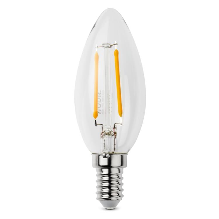 LED-Filament-Kerzenlampe E14, E14 4,5 W