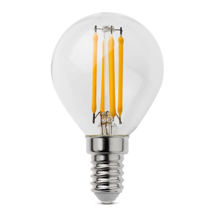 LED-Filament-Kugellampe E14