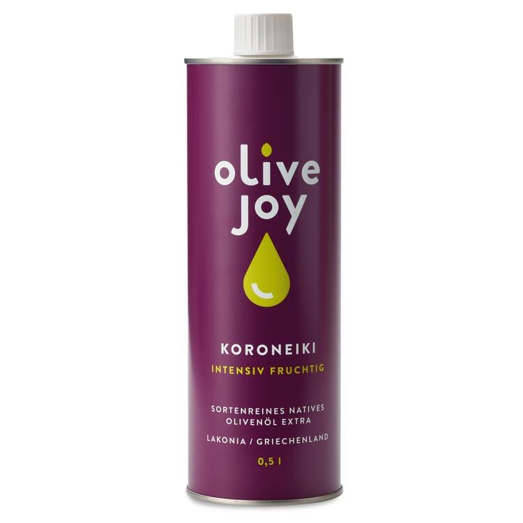Olive Joy Olivenöl Koroneiki ausgewogen scharf