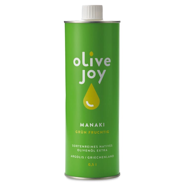 Olive Joy Olivenöl Manaki fruchtig