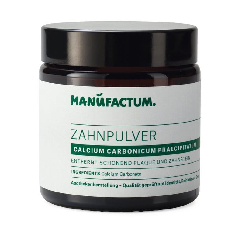 Toothpowder by Manufactum, Calcium Carbonate
