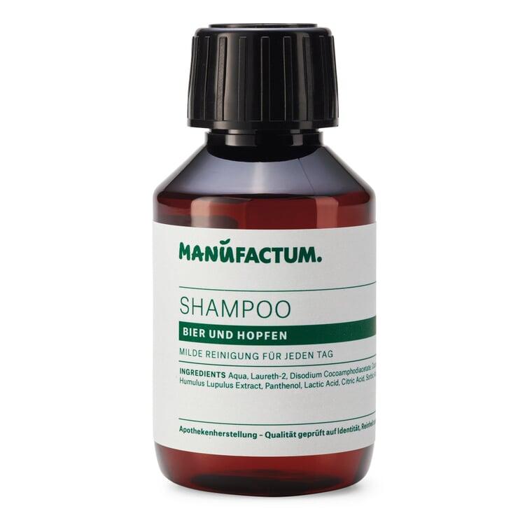 Manufactum Shampoo Bier und Hopfen 100-ml-Kunststoffflasche