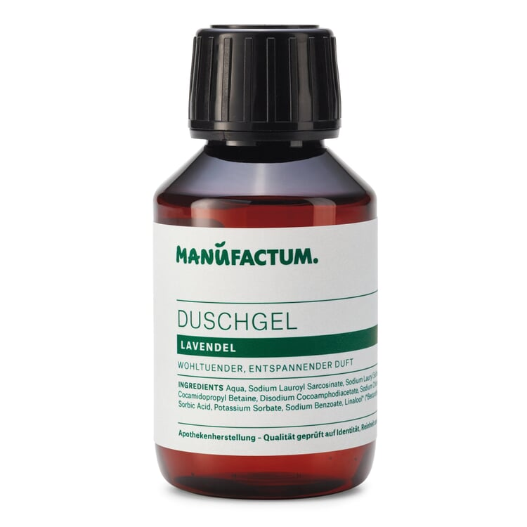 Manufactum Duschgel Lavendel 100-ml-Kunststoffflasche