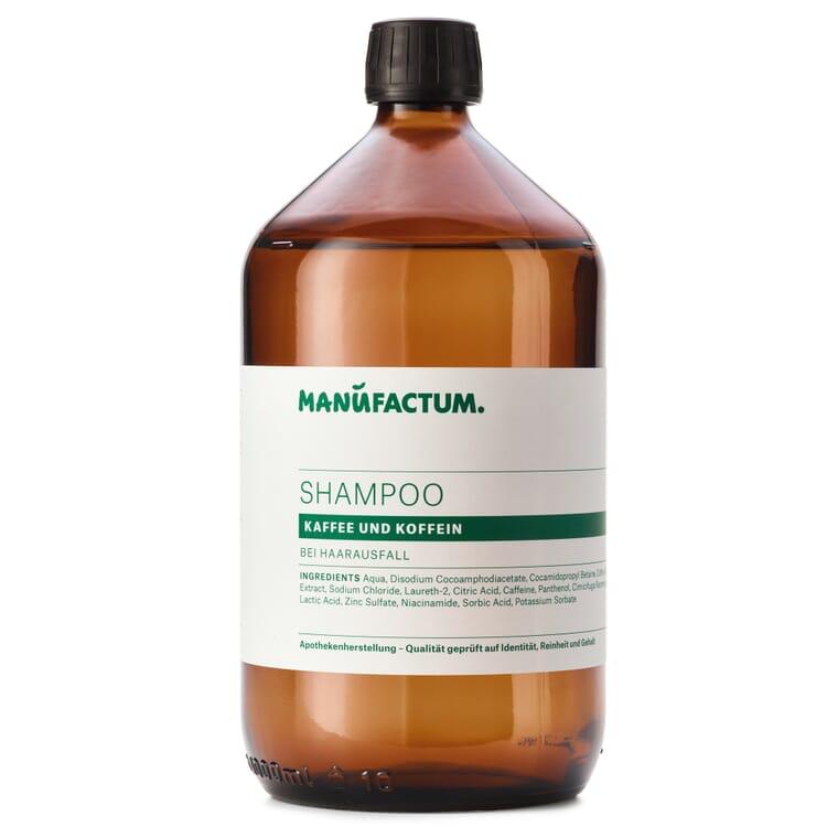 Manufactum Shampoo, Kaffee und Koffein