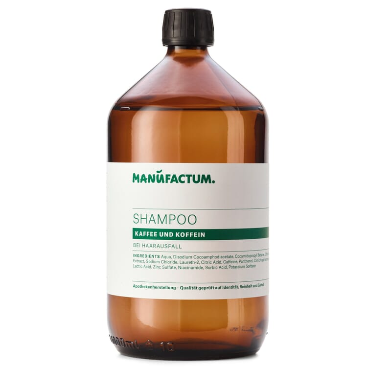 Shampoo by Manufactum, Coffee Extract plus Caffeine
