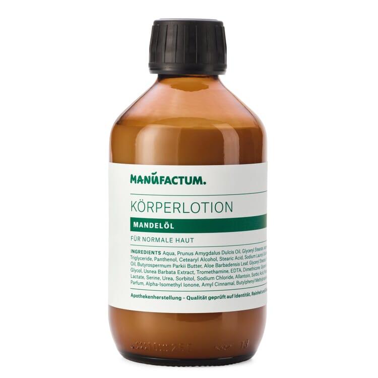 Manufactum Körperlotion, Mandelöl