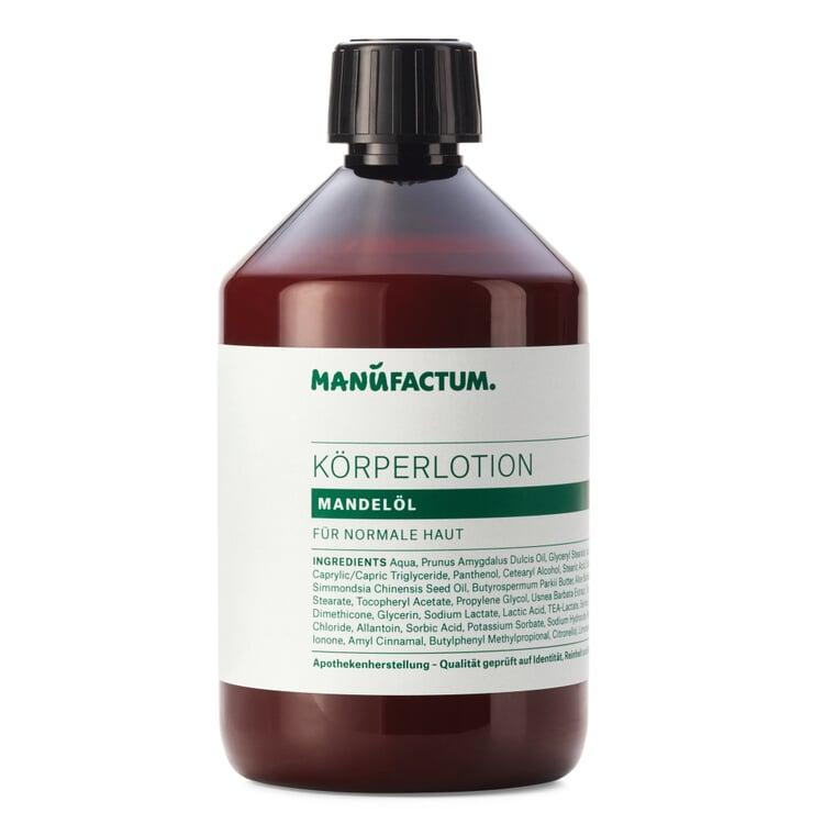 Body Lotion by Manufactum Almond Oil 500 ml plastic bottle