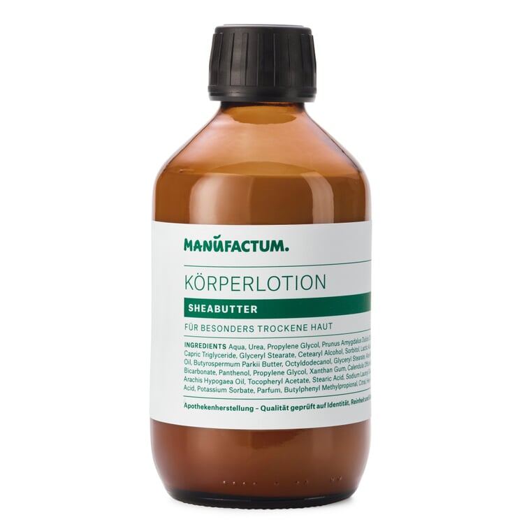 Manufactum Körperlotion Sheabutter 250-ml-Glasflasche