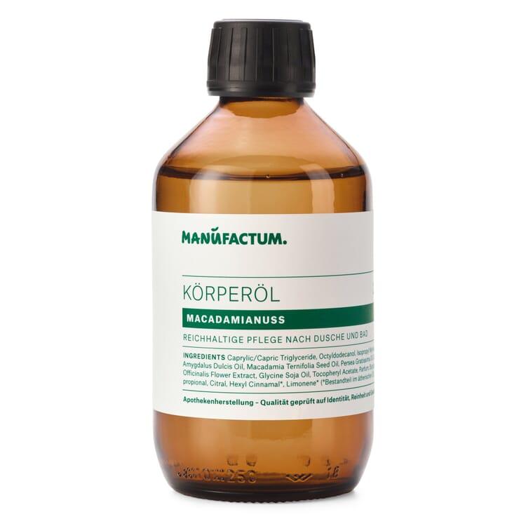 Manufactum Körperöl Macadamianuss