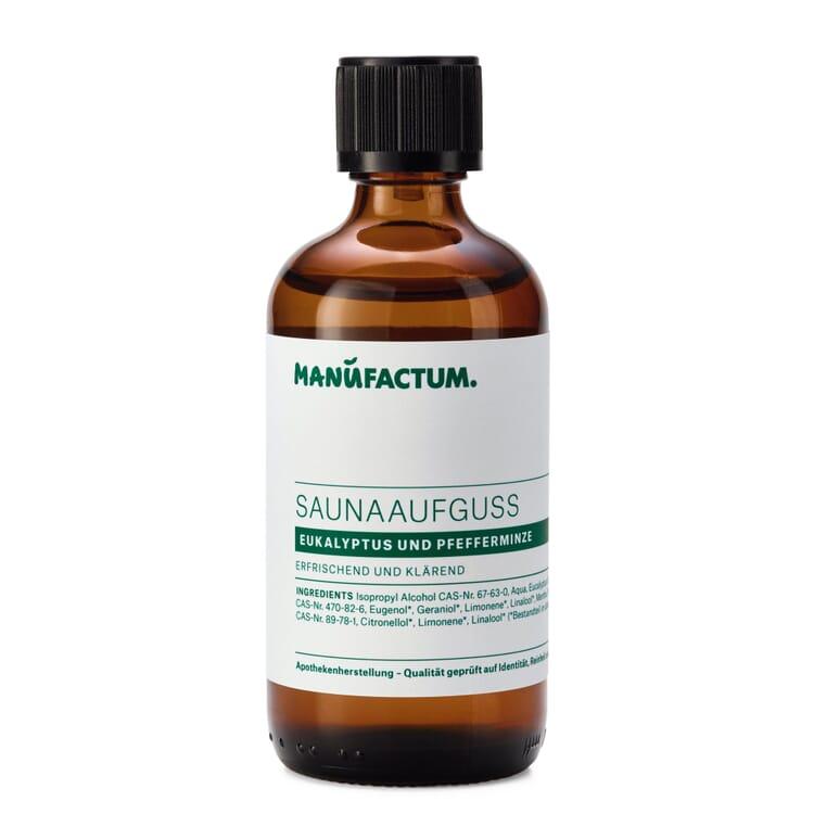 Manufactum Saunaaufguss, Eukalyptus-Pfefferminze