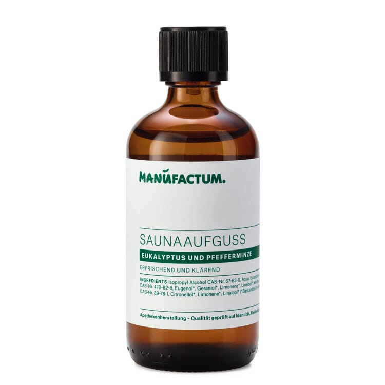 Sauna Infusion by Manufactum, Eucalyptus-Peppermint