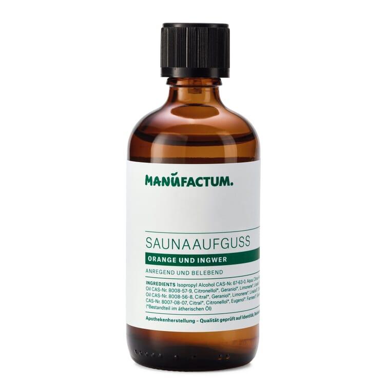 Manufactum Saunaaufguss, Orange-Ingwer