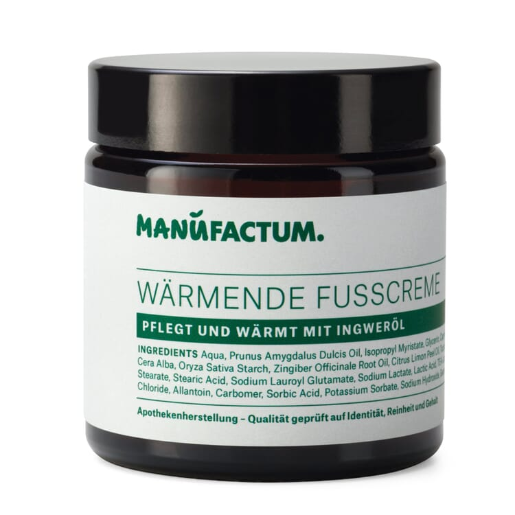 Warming Foot Cream by Manufactum