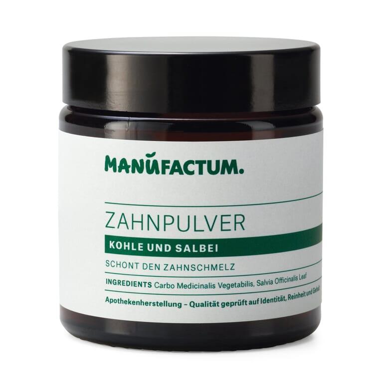 Manufactum Zahnpulver, Kohle