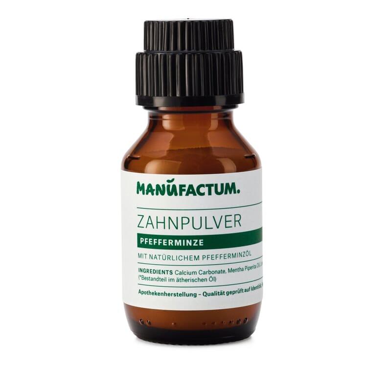 Manufactum Zahnpulver, Pfefferminze