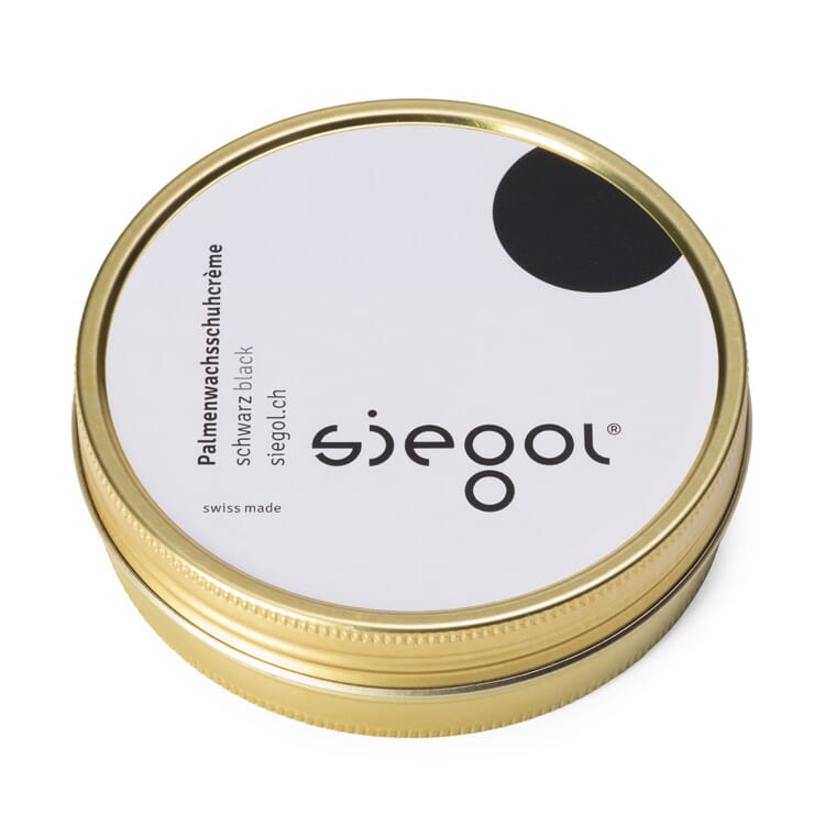 SIEGOL® Palm Wax Shoe Cream, Black
