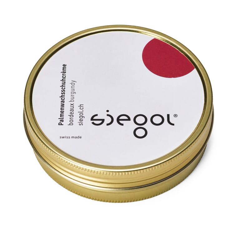 SIEGOL® Palm Wax Shoe Cream, Wine-Red