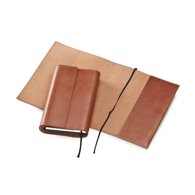 Calf Leather Book Jacket, 25 x 43 cm