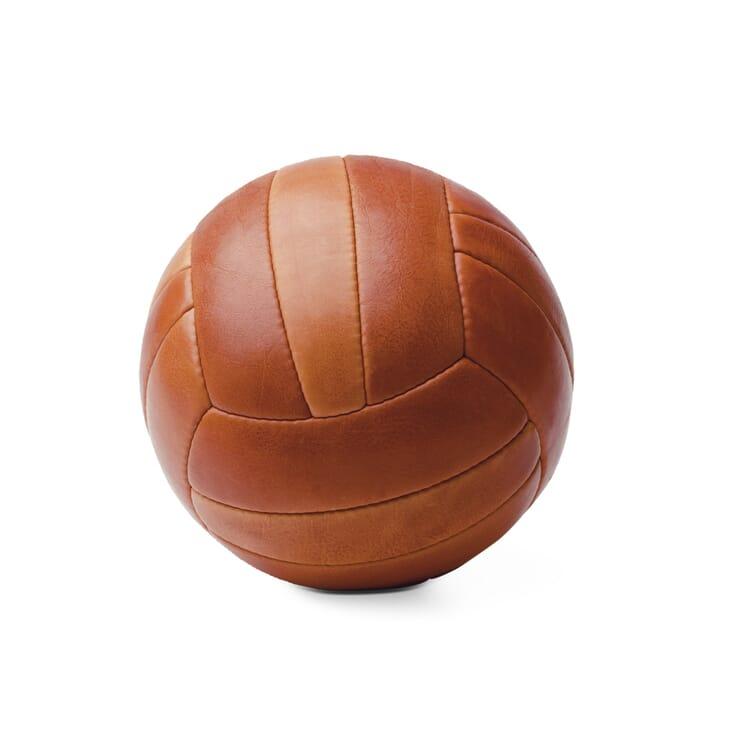 Manufactum Lederfußball rotgegerbt