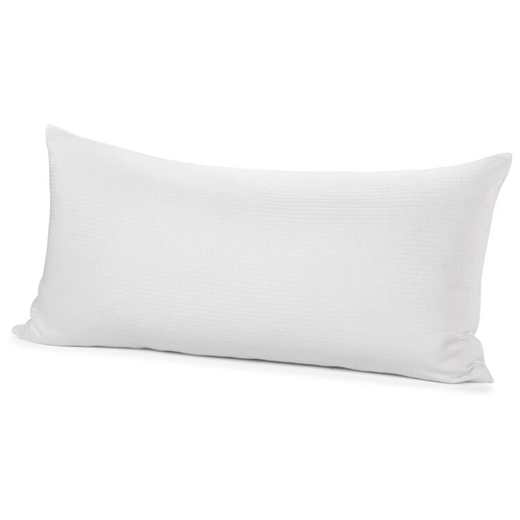 Kissenbezug Mühlviertler Leinen Weiß 40 x 80 cm