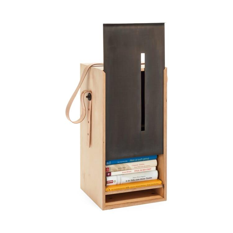 Mobile Book Cabinet