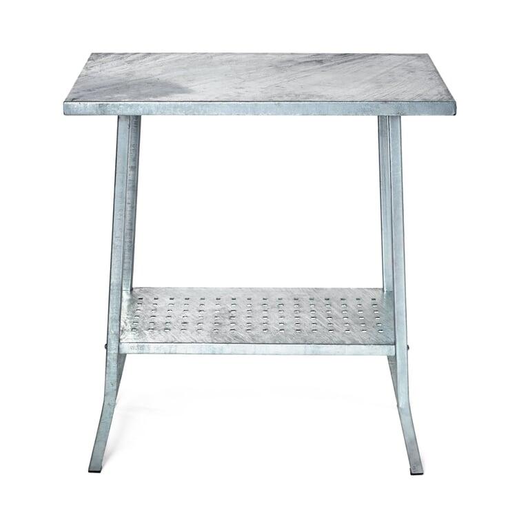 Garden Table Made of Galvanized Steel
