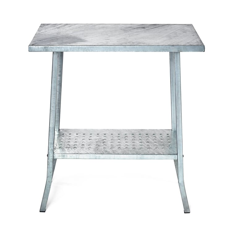 Garden Table Made of Galvanized Steel