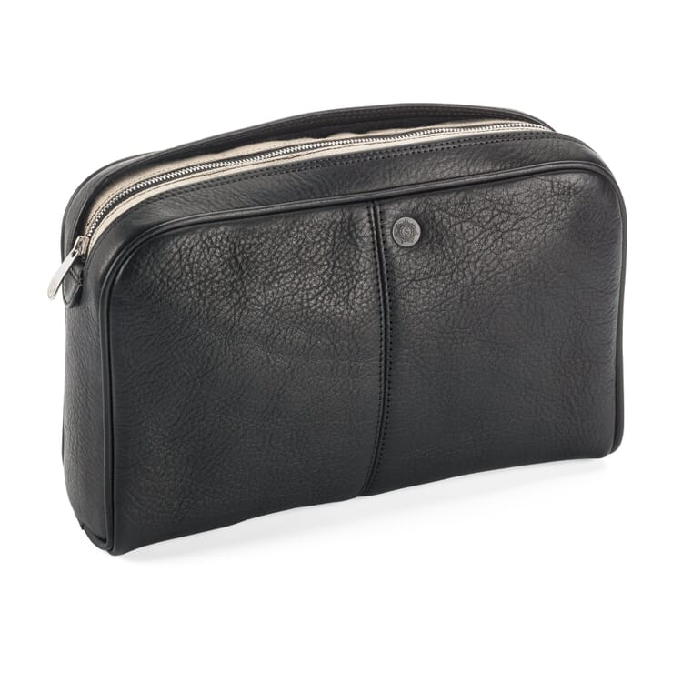 Sonnenleder Toiletries Bag, Black