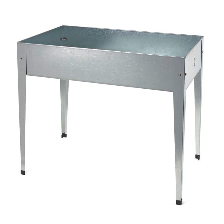 Galvanized Steel Raised Vegetable Bed, Large