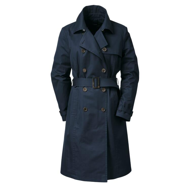 Damen-Trenchcoat EtaProof®, Dunkelblau