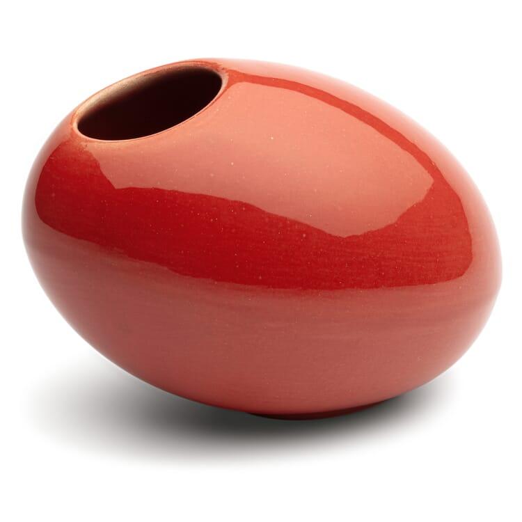 Bogler Vase Red Egg