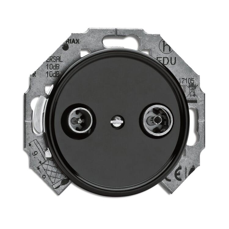 Antennen-Steckdose Bakelit® Ausführung 1 - ohne Abdeckung