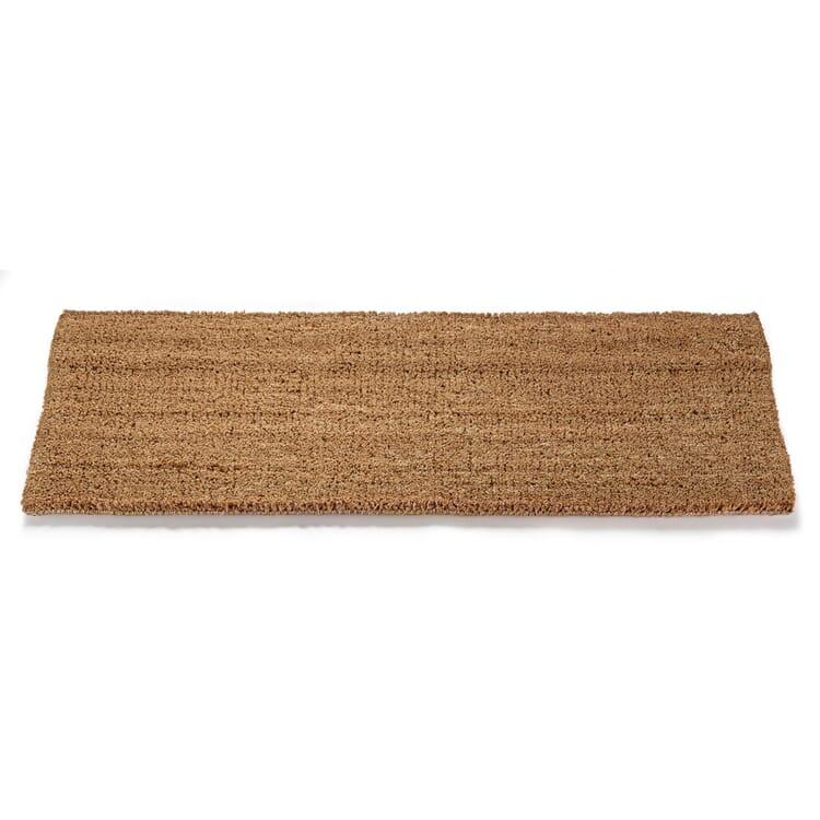 Coconut Velour Doormat, Natural