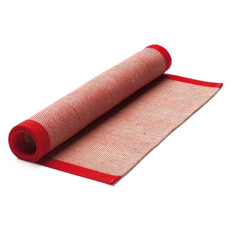 Finnischer Tischläufer Leinen, Rot