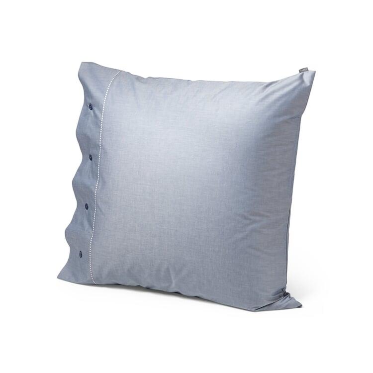 Chambray Pillowcase Blue 80 x 80 cm