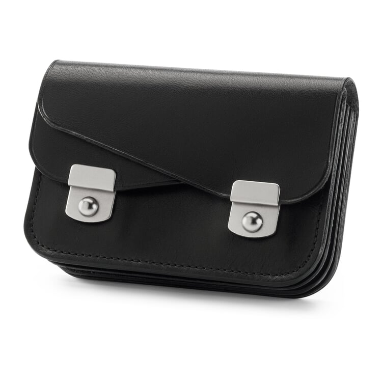 Manufactum Small Concertina Purse Black