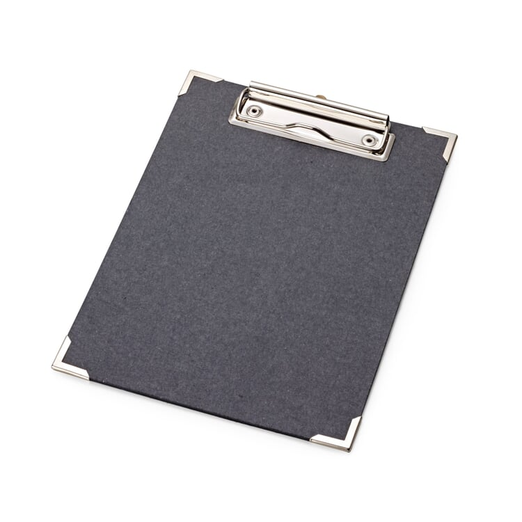 Black Pasteboard Clipboard A5