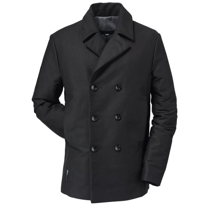 FHB Men's Moleskin Jacket, Black