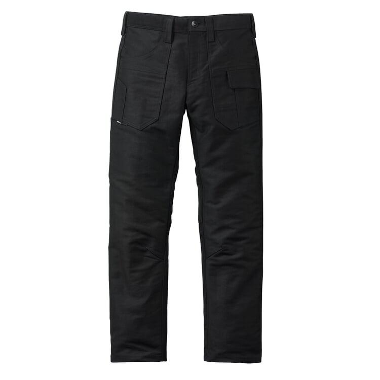 FHB Moleskin Work Pants Black