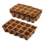 Aussaatplatten Holzfaser